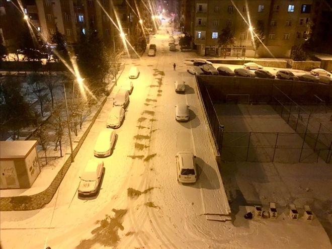 Mardin´de, okullara kar tatili