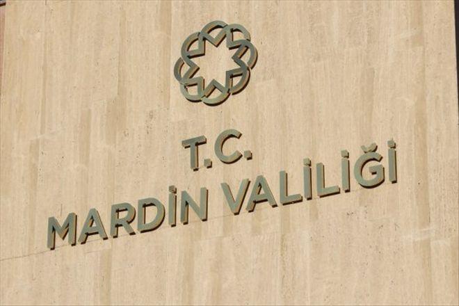 Mardin Valiliğin´den gösteri  yasağı