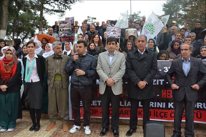 Halepçe Katliamı Mardin`de kınandı