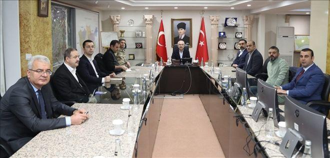 Mardin Valiliğinde Pandemi Kurulu Toplantısı