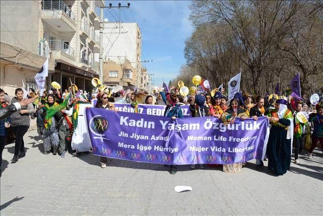 HDP Eş Genel Başkanı Yüksekdağ, Mardin`de