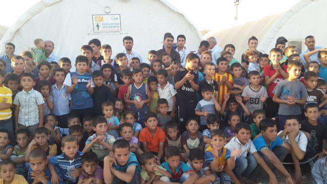 Iraklı Ve Suriyeli Mülteci Çocuklarına, Sirk Ve Sokak Gösterisi