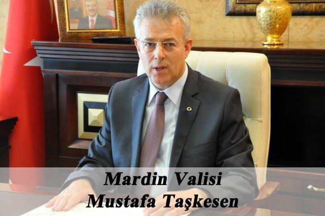 Mardin Valisi Taşkesen,  29 Ekim Cumhuriyet Bayramı  mesajı