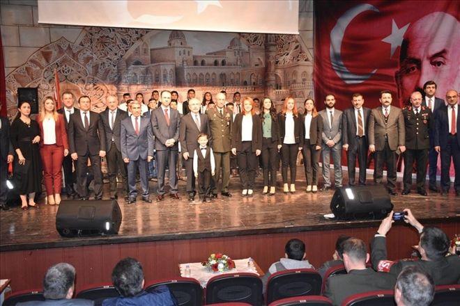 İstiklal Marşının Kabulü ve Mehmet Akif Ersoy´u Anma Günü Programı Düzenlendi