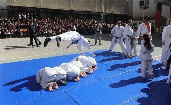 Mardinli Judoculardan Muhteşem Gösteri