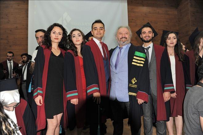 Kalyoncu Üniversitesinde Mezuniyet Töreni