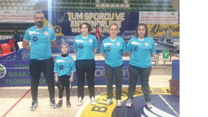 Mardin Masa Tenisi Takımı Süper Lig'de