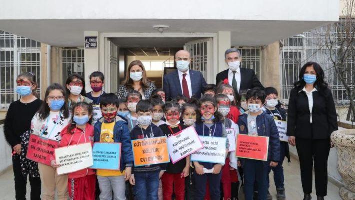 Mardin'de en çok kitap okuyan öğrenciler ödüllendirildi