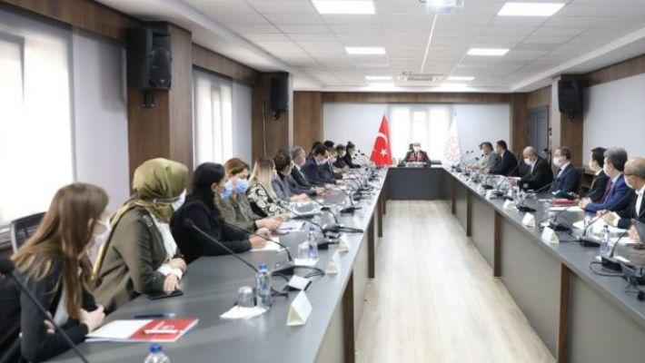 Vali Mahmut Demirtaş, Kadına Yönelik Şiddetle Mücadele Toplantında konuştu