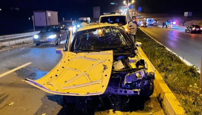 Adıyaman Eğriçay Köprüsü'nde iki ayrı kazada 6 kişi yaralandı