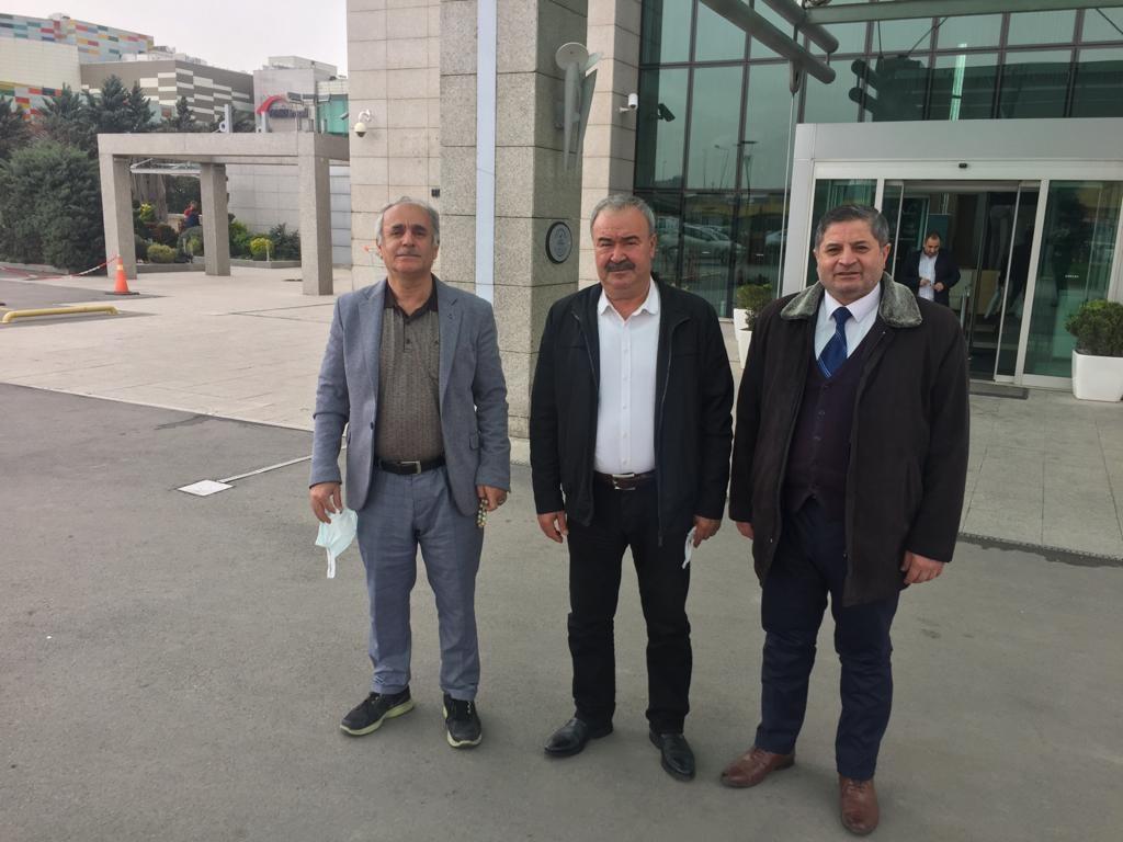 Alternatif ve Çözüm Derneği Yeni Kızıltepe Erkek Voleybol takımına destek ziyareti
