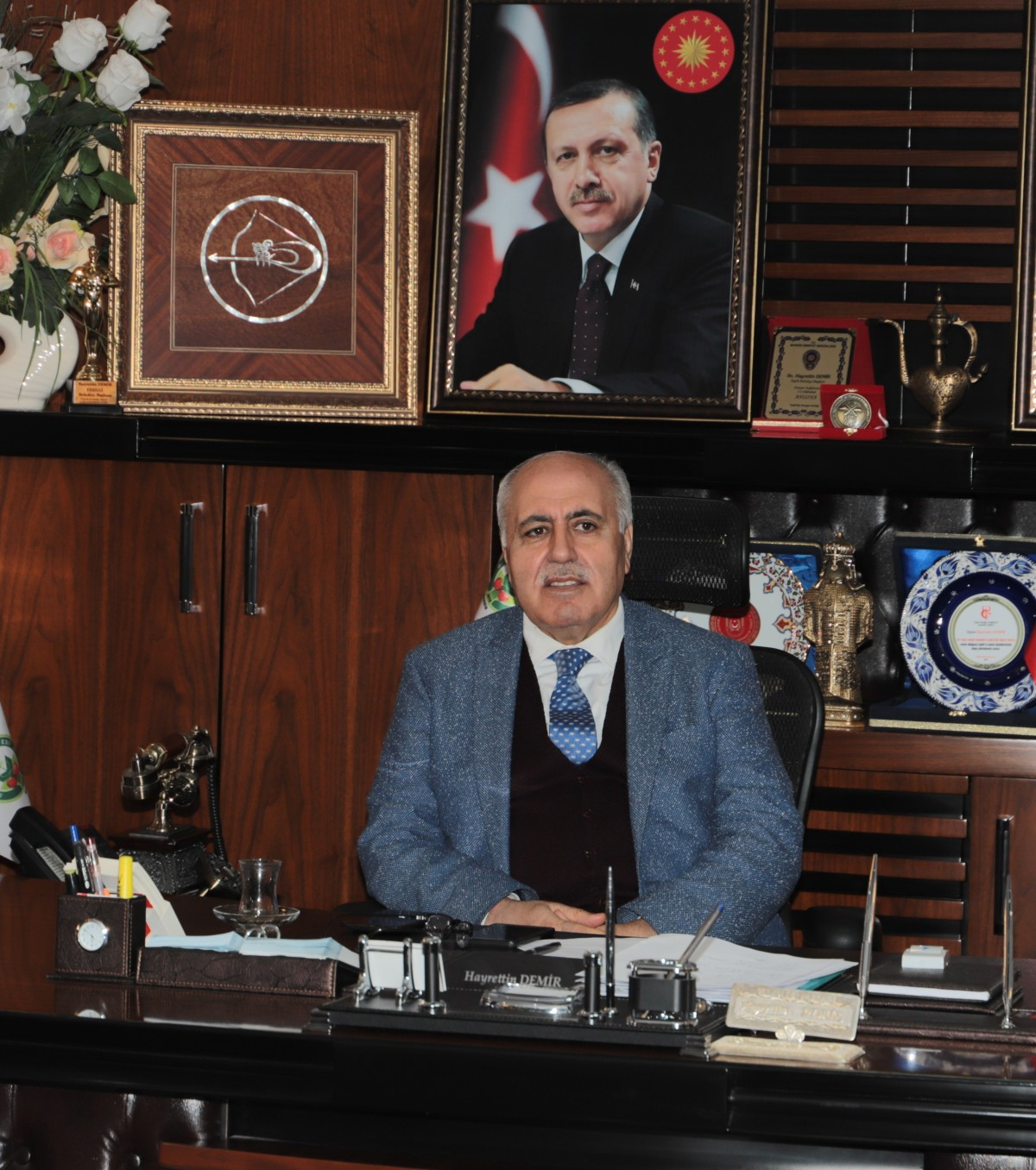 Başkan Hayrettin Demir'den 15 Temmuz mesajı