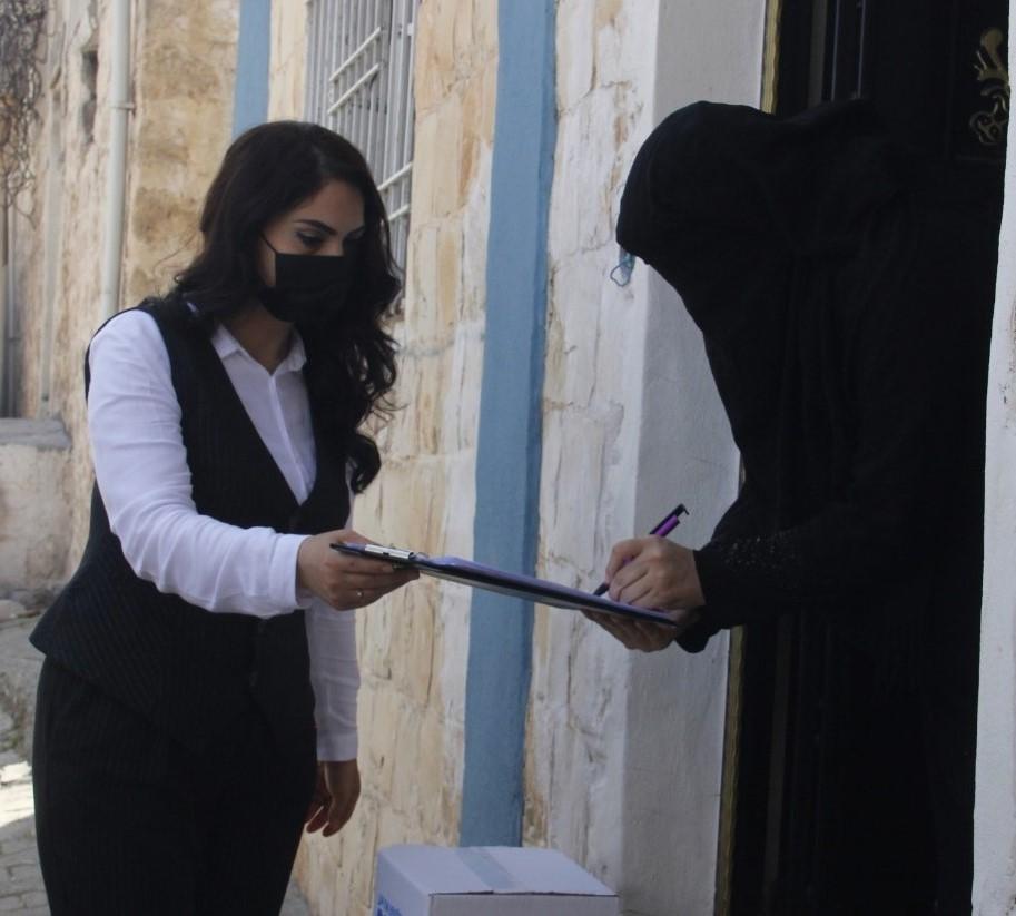 BM'den Suriyelilere Hijyenik Paket