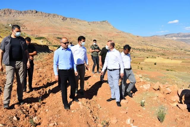 Mardin Büyükşehir Belediyesi Genel Sekreteri Murat Süzen'den Dargeçit İlçesini Ziyaret Etti