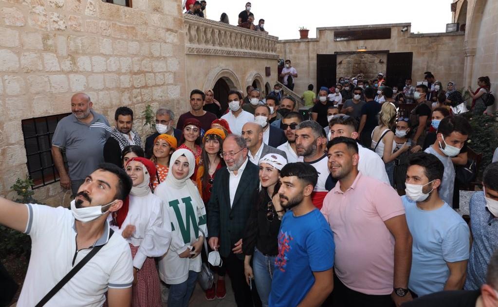 Eski Bakanlar Mardin'e geldi