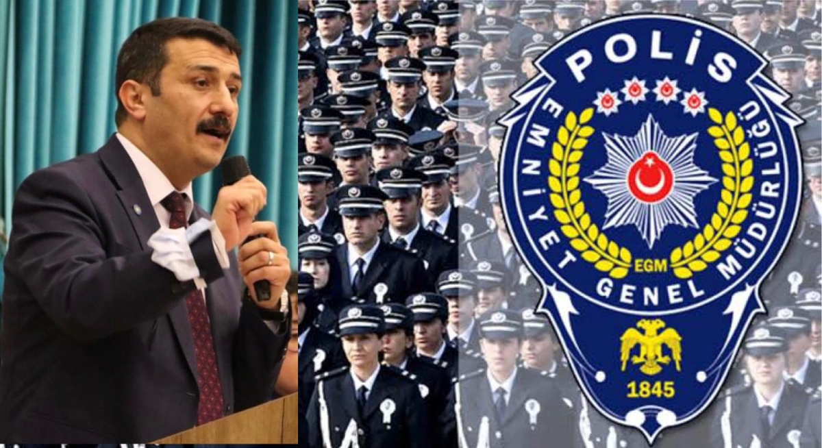 İYİ Parti Bursa'dan polislerin özlük hakkı için İçişleri Bakanlığı'na seslendi
