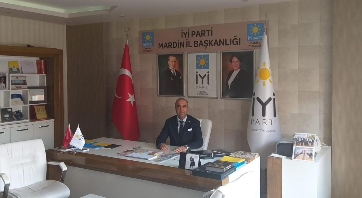 İYi Parti Mardin İl Başkanı Akar Bayram Mesajı Yayımladı