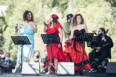 İzmir'de Dünya Romanlar Günü kutlandı