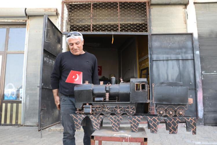 Kara tren belki bir gün Mardin'e gelir