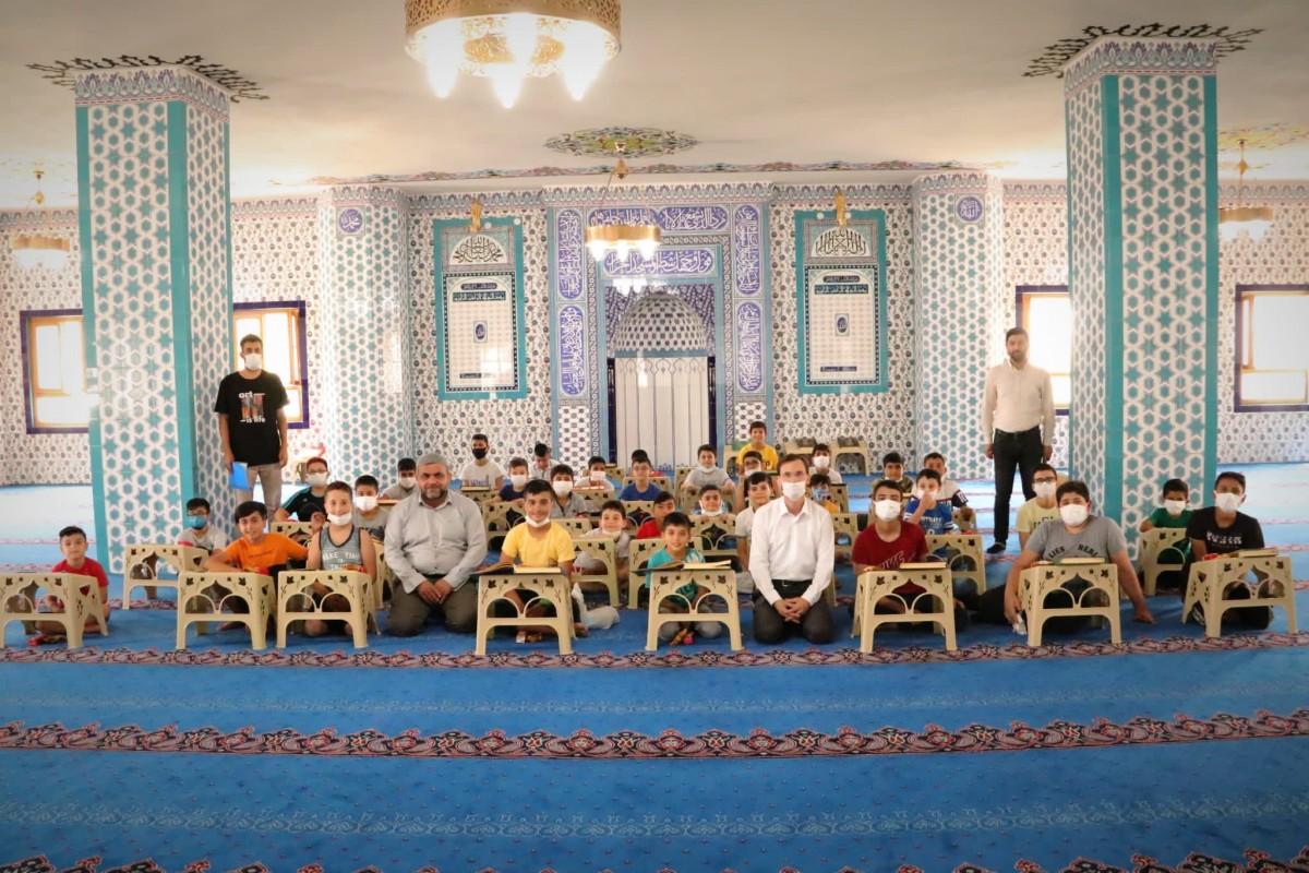 Kur-an Kursu'nda öğrencilere drama eğitim verildi