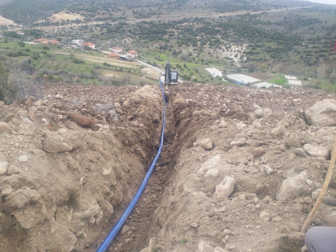 Manisa Köylüce'de su sorunu kalmayacak