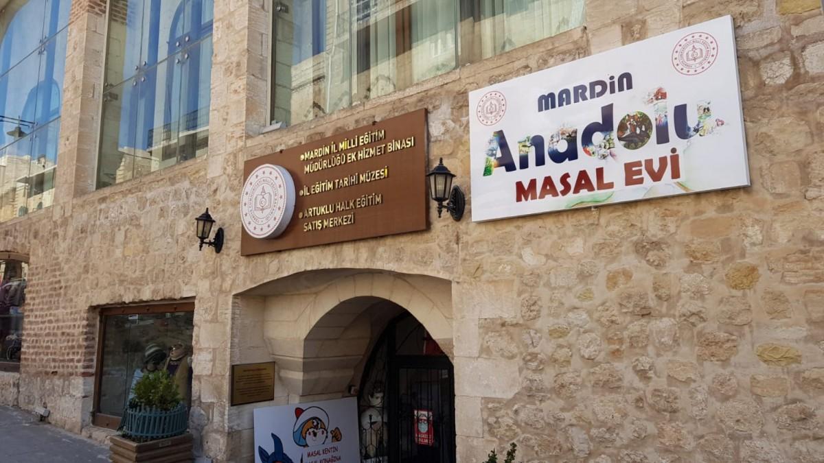 Mardin Anadolu Masal Evi Çocukların Hizmetine Açıldı