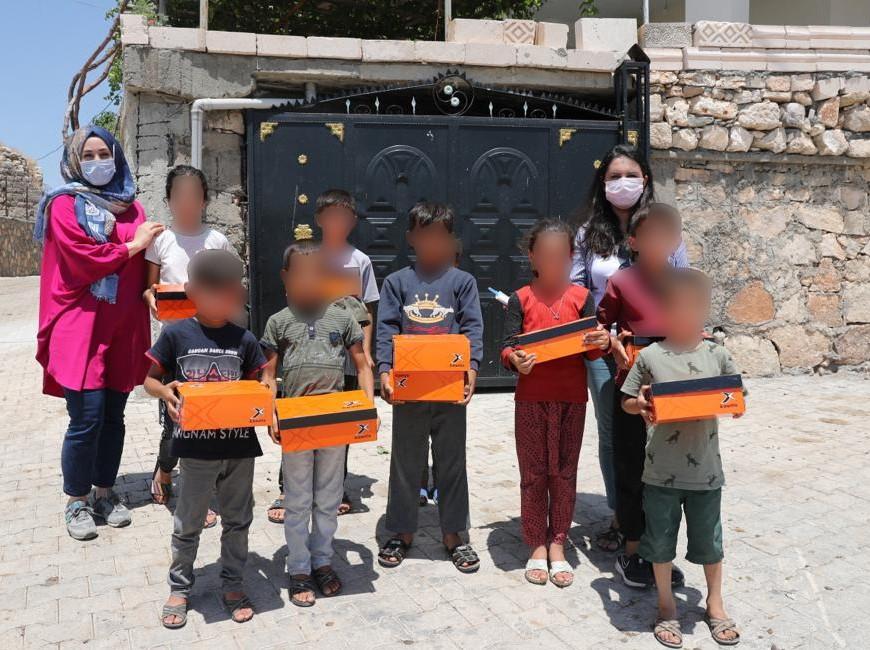Mardin Belediyesinden, Çocuklara Bayramlık