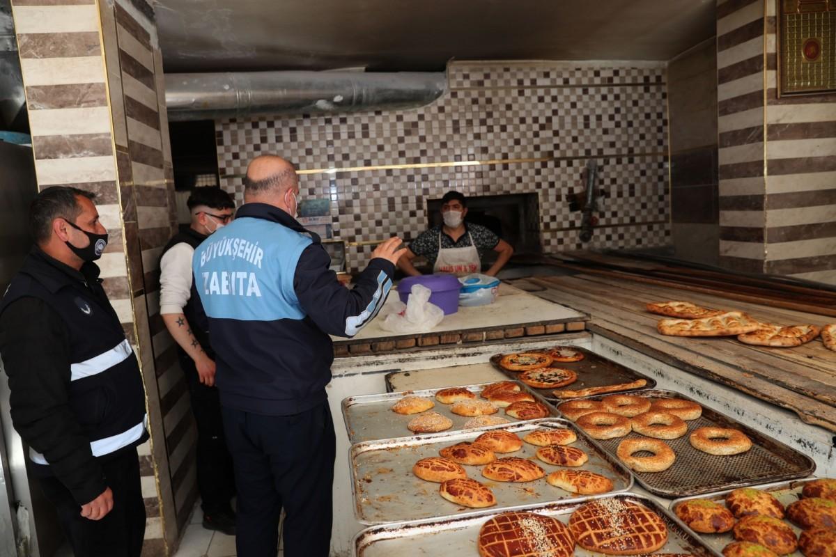 Mardin Büyükşehir Belediyesi Zabıta Ekiplerinden Ramazan denetimi