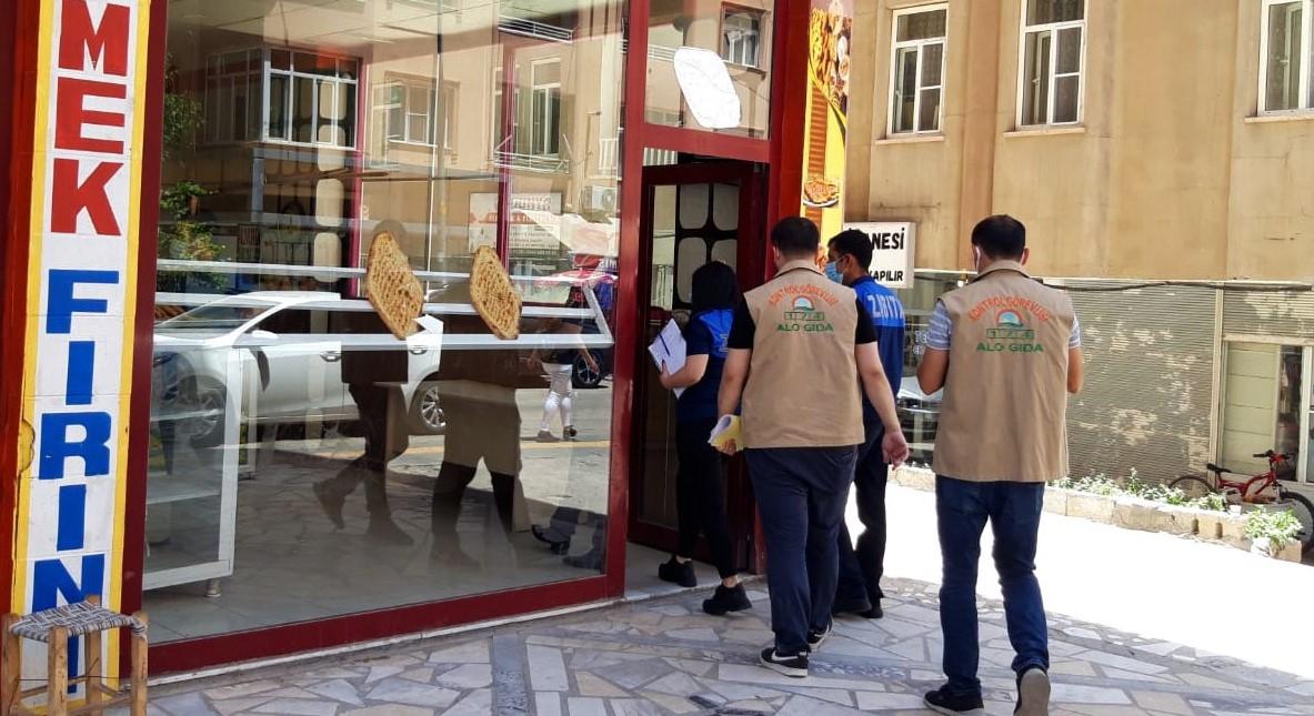 Mardin'de fırınlar denetleniyor