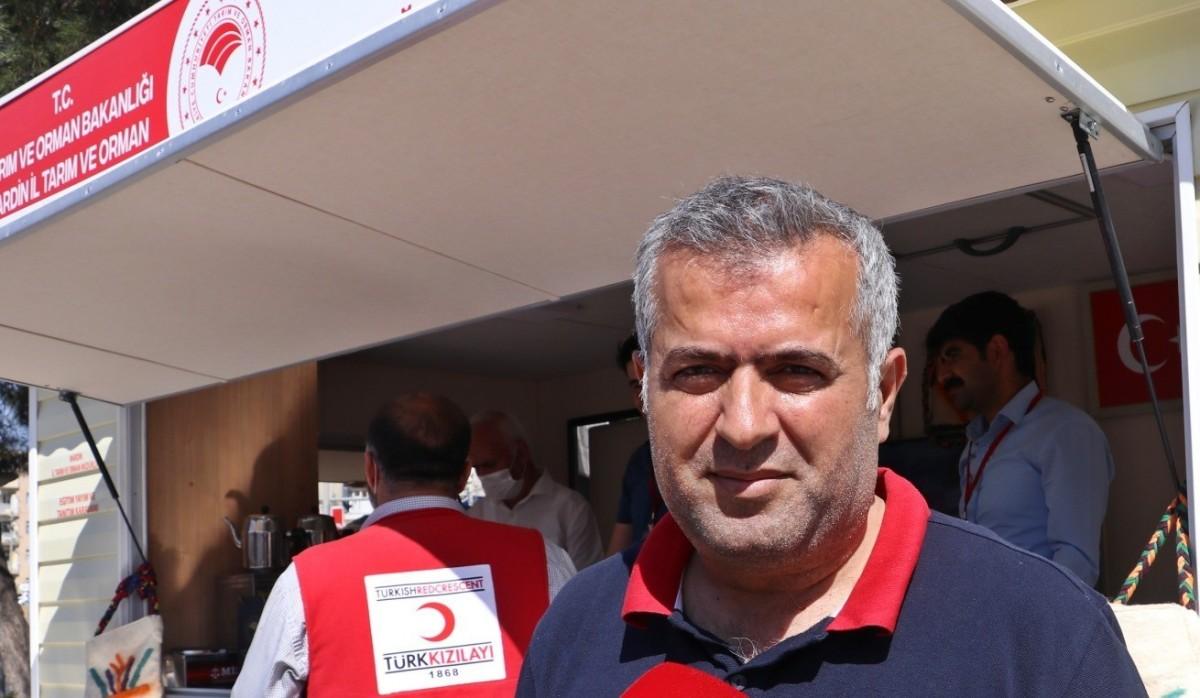 Mardin'de gezici ürün tanıtımı