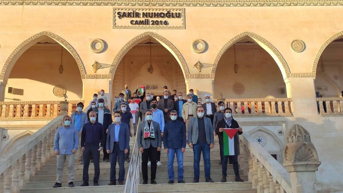 Mardin'de Mescid-i Aksa İçin Dua ettiler