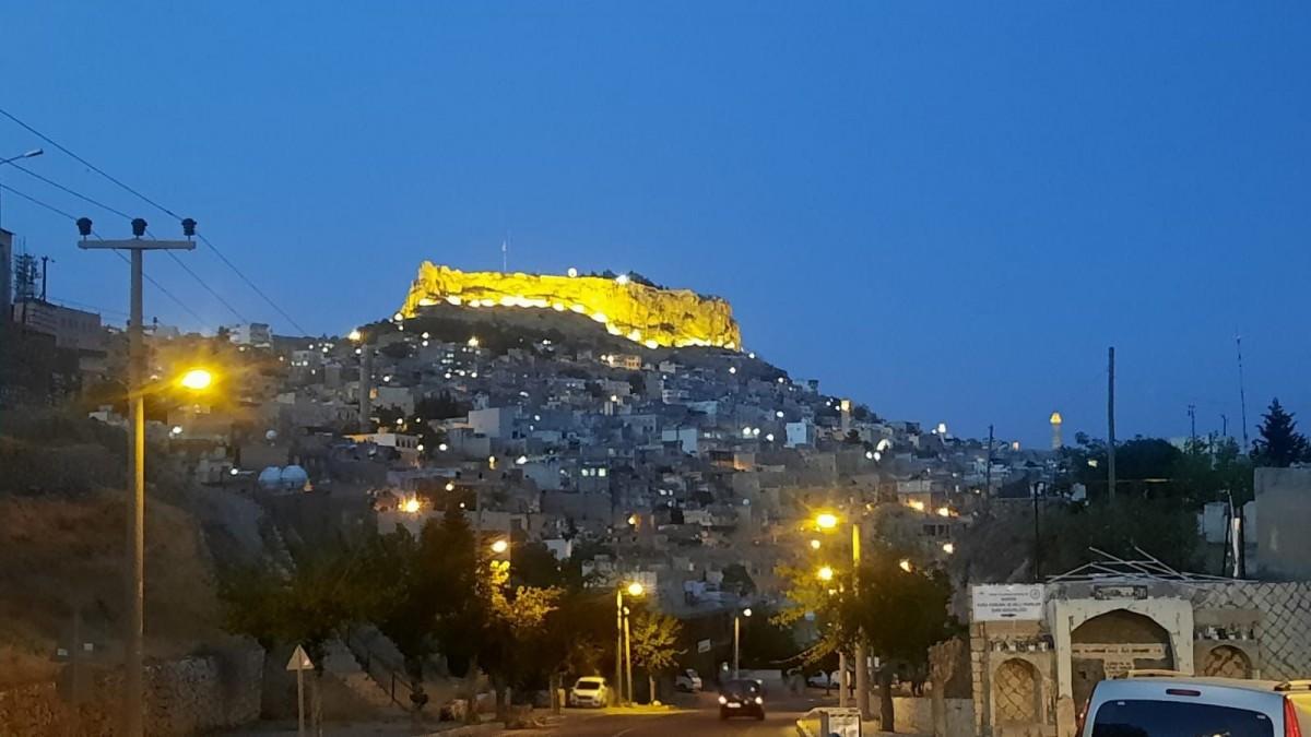 Mardin Kalesi Taçlandı