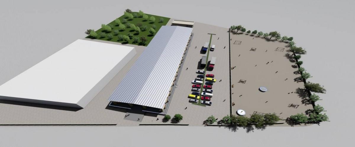 Midyat ilçesine modern kapalı pazar alanı yapılacak