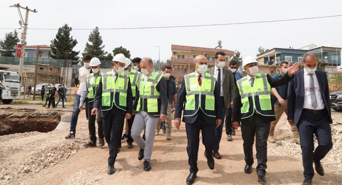 Ömerli Belediyesi 100 yıl yetecek altyapısını hazırlıyor