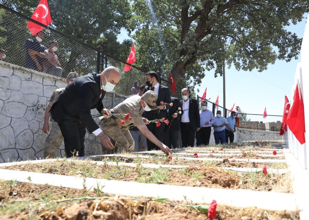 Pınarcık Katliamında hayatını kaybedenler için  anma töreni