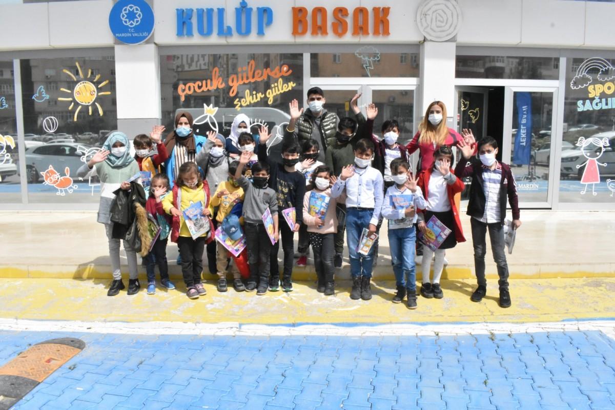 Suriyeli Öğrenciler Kulüp Başak'ta Gönüllerince Eğlendiler