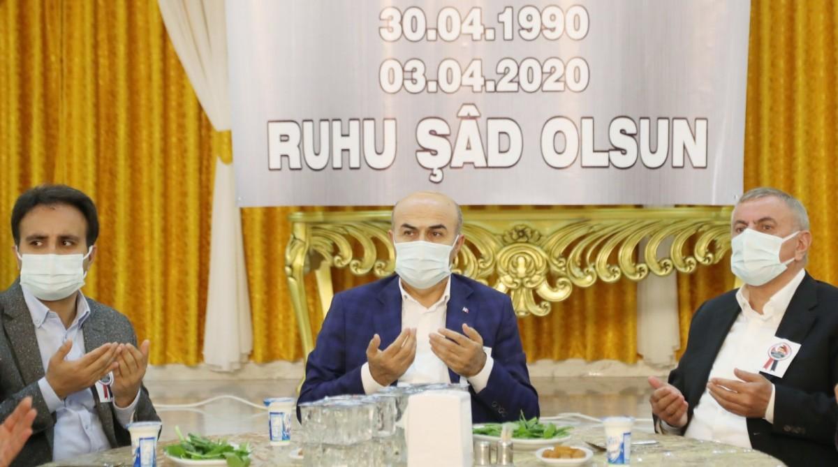 Vali Demirtaş, Şehit Gözenoğlu'nun Mevlidine Katıldı