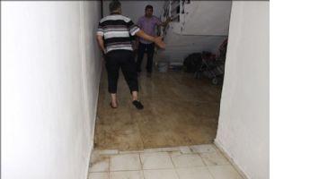 Nusaybin´de kanalizasyon borusu patladı evleri su bastı