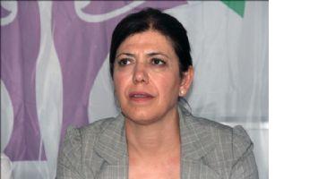 Adana HDP Milletvekili Meral Danış Beştaş, Diyarbakır´daki evinde gözaltına alındı