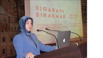 Artuklu Üniversitesinde Sigara Konferansı