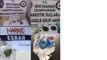 Mardin´de uyuşturucu operasyonları: 10 gözaltı