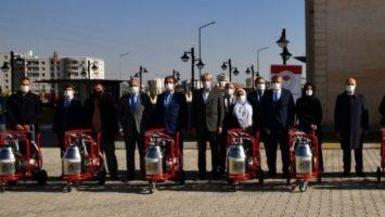 Mardin'de Süt Sağım Makineleri Dağıtımı