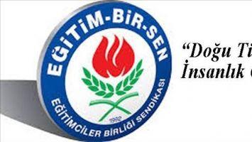 Eğitim-Bir-Sen Midyat Temsilciliği´nden Doğu Türkistan Açıklaması