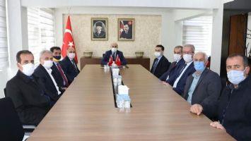 Ömerli Heyetinden Vali Demirtaş'a Teşekkür Ziyareti