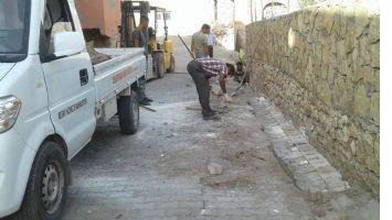 Dargeçit 'te cadde ve sokaklar onarılıyor
