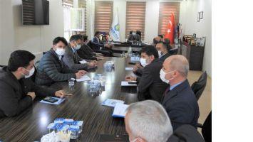 Vali Demirtaş Sanayicilerle Toplantı Yaptı
