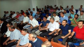 Midyat´ta 2014-2015 eğitim-öğretim yılı değerlendirme toplantısı