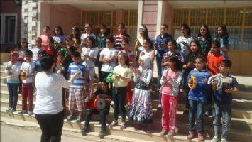 Zergan Ortaokulu'nda Kültür Sanat Etkinlikleri