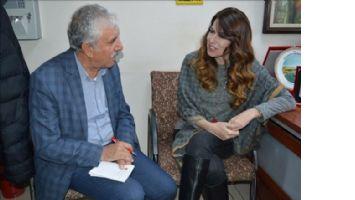 Ünlü oyuncu İpek Tuzcuoğlu, Mardin´de gençler buluştu