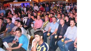Mardin´de gençlerin Fenerbahçe coşkusu